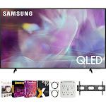 Samsung QN75Q60AA 75 Inch QLED 4K Smart TV (2021) + Movies Streaming Pack