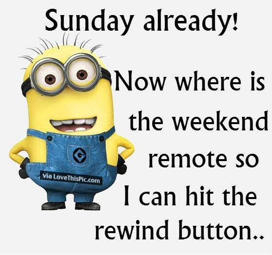 Funny Sunday Minion Pictures Photos And Images For Facebook