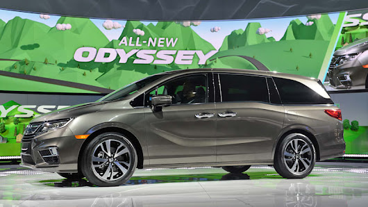 The 2018 Honda Odyssey is your connected daycare suite on wheels