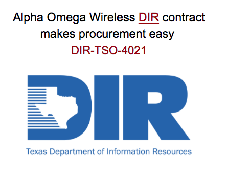 Alpha Omega Wireless Now On DIR Contract