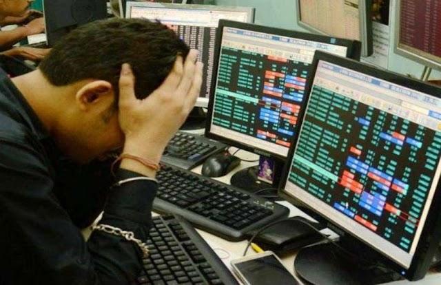 RIL और Tata के शेयरों में दबाव की वजह से शेयर बाजार में गिरावट