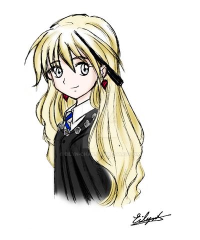 Luna Harry Potter In Anime Chibi Wwwpicturessocom