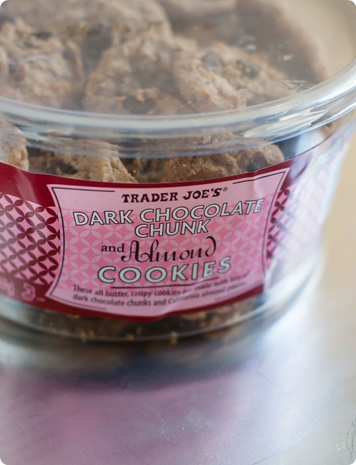 Trader Joe's Dark Chocolate Chunk and Almond Cookies review
