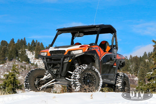Early Winter Ride with Polaris General 1000 EPS Deluxe - UTV Guide
