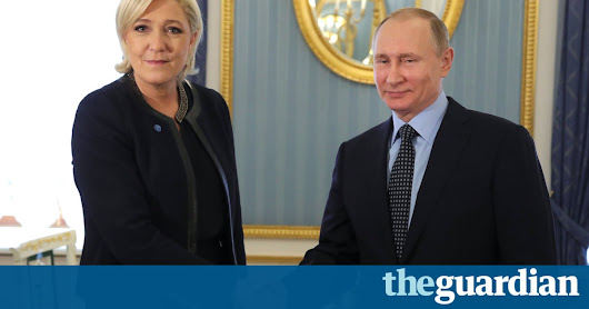 Putin tells Le Pen Russia has no plans to meddle in French election | World news | The Guardian