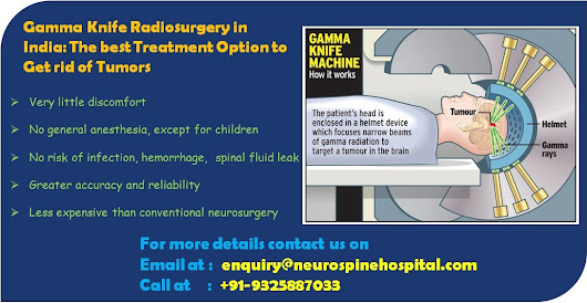 Gamma Knife Radiosurgery in India: The Best Treatment Option to Get rid of Tumors