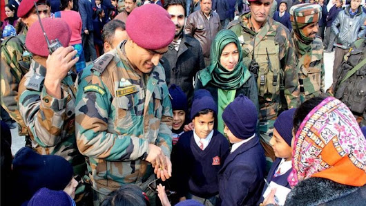 MS Dhoni turns Good Samaritan, motivates Srinagar students in surprise visit