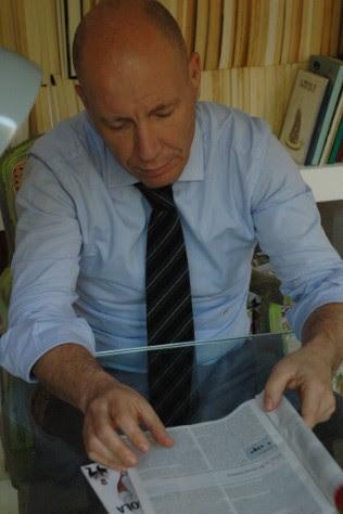 Gianluca Ponzio, Amministratore di Trambus Open