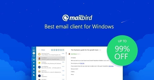 Don't like Outlook? Get Mailbird.