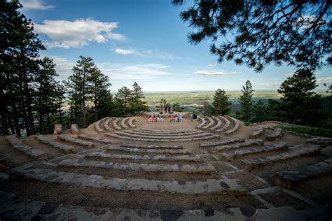 Sunrise Amphitheater Wedding Ceremony on Flagstaff