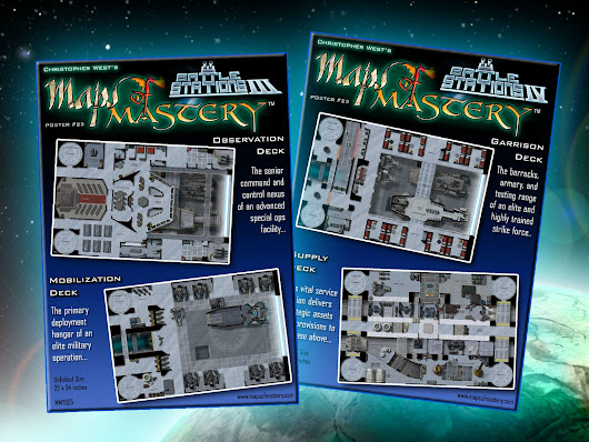 Battle Stations Expanded: New Poster Maps! by Christopher West —  Kickstarter
