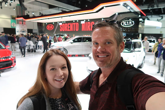 Our 2017 LA Auto Show Adventure With Kia Motors America