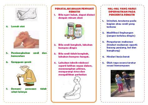 leaflet penyakit rematik akper muna