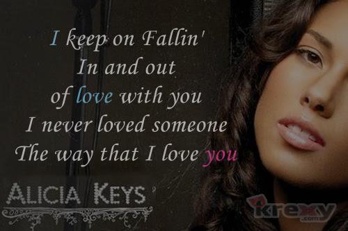 Alicia Keys Quotes Fallin With Lyrics Alicia Keys Krexy Living