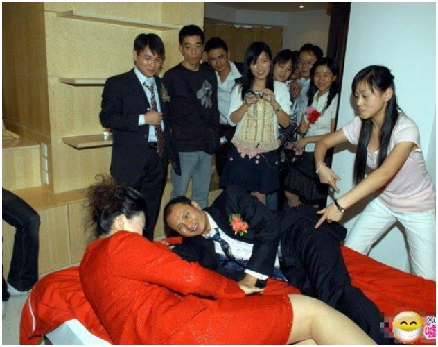 Image result for Funny Crazy Chinese Wedding Games