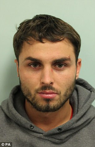 Arthur Collins, the drug dealing boyfriend of reality TV star Ferne McCann, injured more than 20 clubbers when he threw acid across a nightclub dancefloor