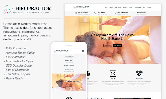Download Free Chiropractor WordPress Theme – Chiropractor – Template Haunt