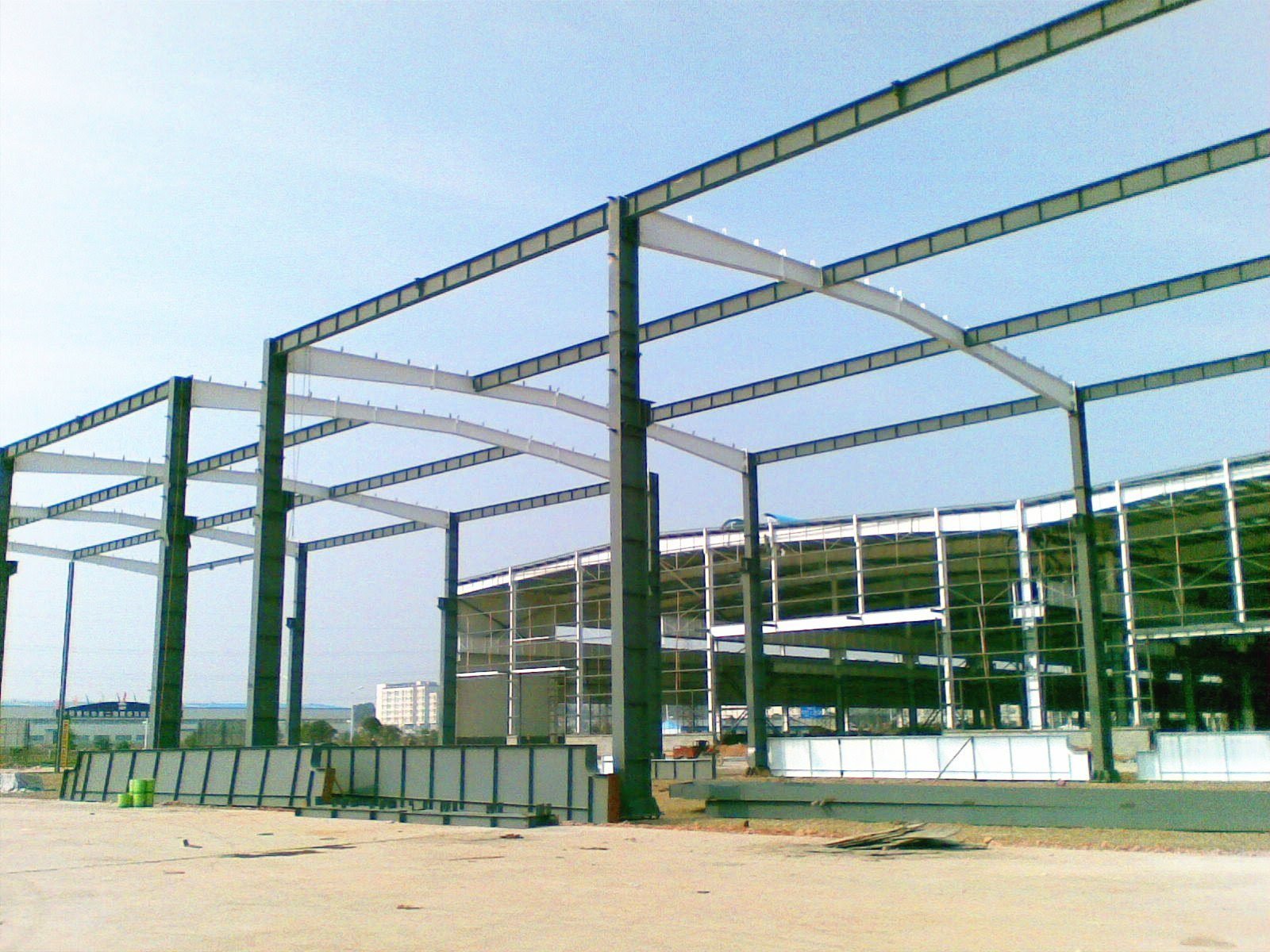 Professional Design Living Prefab House Prefab Steel Structure