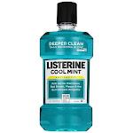 Listerine Antiseptic Mouthwash, Cool Mint, 33.8-Ounce Bottle