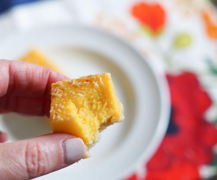 #traderjoes mango bar bites review