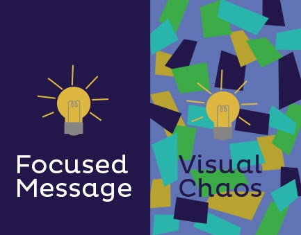 Calming visual chaos with effective graphic design