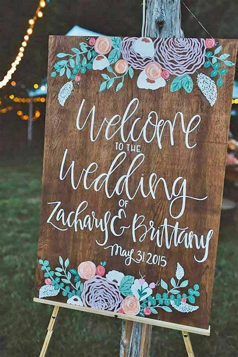 30 Rustic Wedding Signs & Ideas for Weddings   Deer Pearl