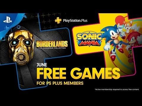 Sonic Mania e Borderlands: The Handsome Collection são os jogos da PSN Plus de Junho