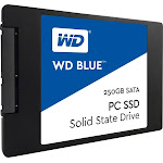WD - Blue 250GB Internal SATA Solid State Drive