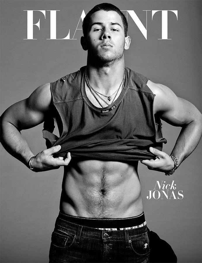 Nick Jonas : Flaunt (October 2014) photo flaunt_cover_nick_jonas.jpg