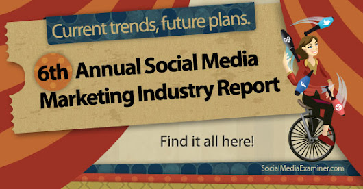 2014 Social Media Marketing Industry Report |