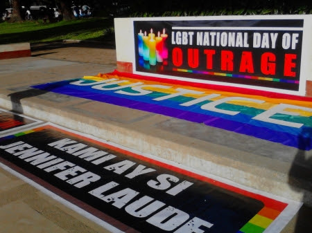 #IamJenniferLaude: Solidarity message for #LGBTOutragePH.