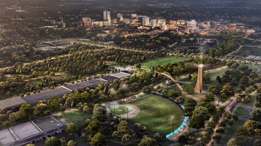 Greenville's newest park, once a place of division, will be a place of unity - Greenville Journal