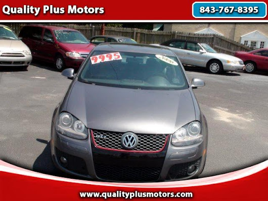 Used 2006 Volkswagen Jetta for Sale in Charleston SC 29407 Quality Plus Motors