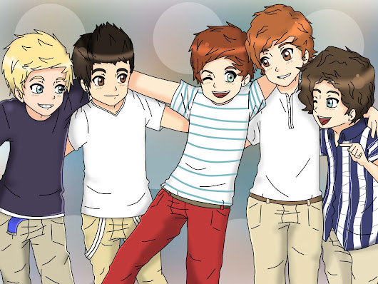 Image : One Direction Cartoon | one_direction_cartoon_wallpaper_by_sozine ...