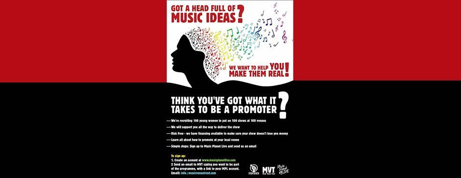 Music Venue Trust Unveils Opportunity For Women In Music Music Match