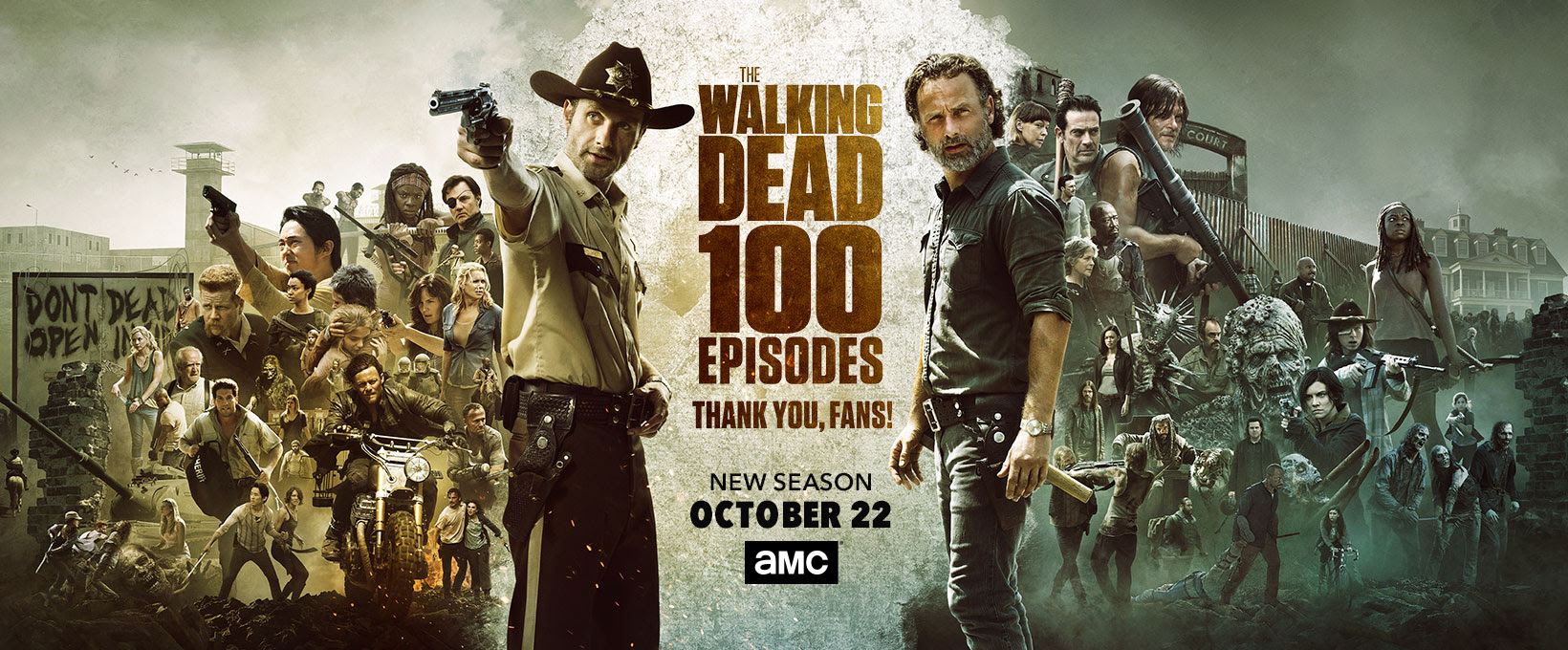 100 Episodes Poster Season 8 The Walking Dead Foto 40605627