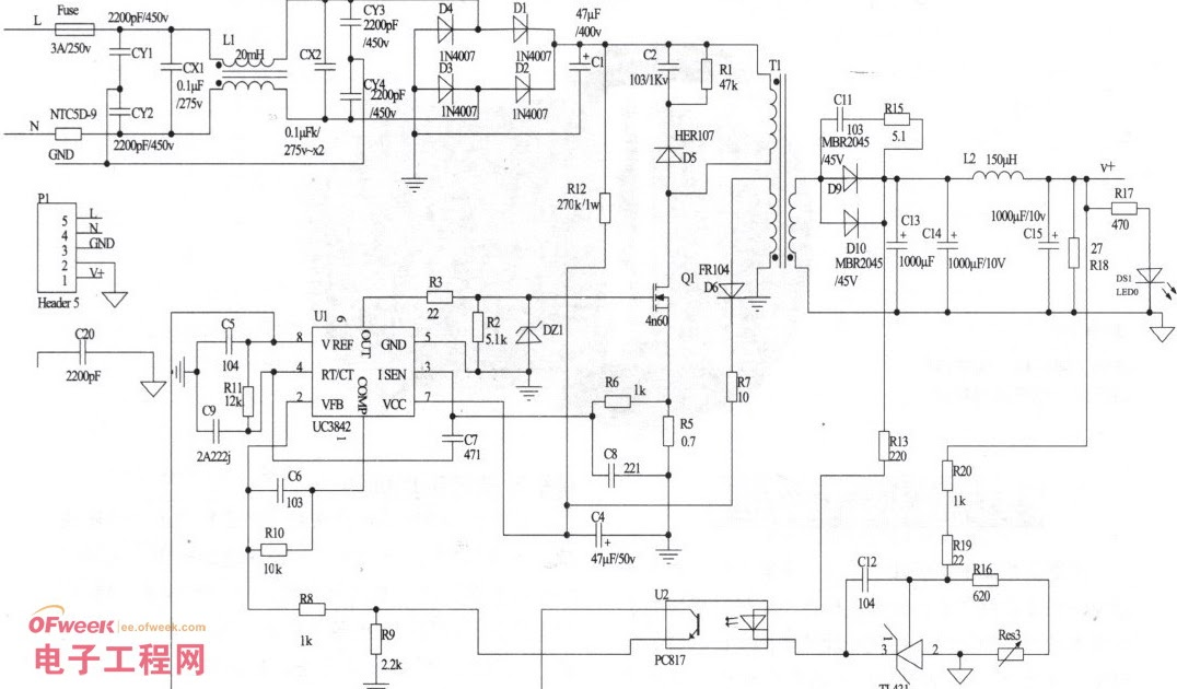 A practical switch power produced (schematic diagram + PCB) | PINNACLE