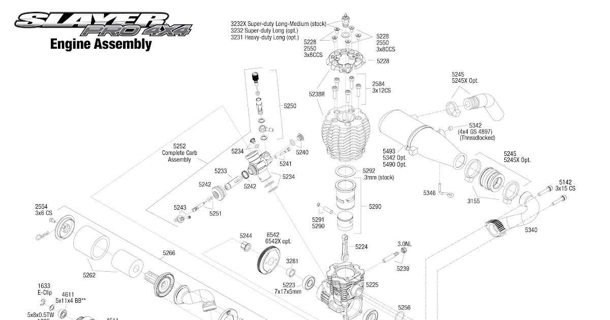 Traxxa 2 5 Engine Diagram