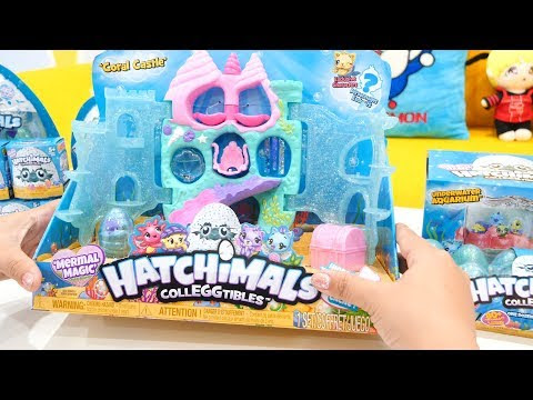 Hatchimals Season 5 - Bể Cá Thủy Cung vs Lâu Đài San Hô Đại Dương