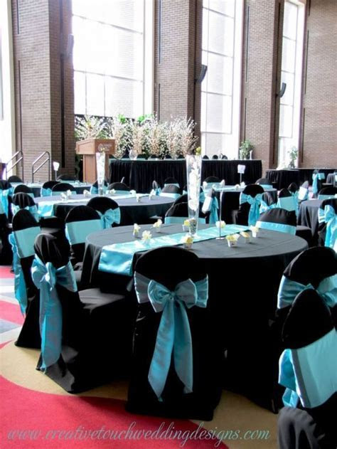 navy and turquoise wedding table linens   Google Search