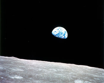 Earth as Photographed from Moon