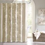 Buy Vaughn Shower Curtain at easyhomelinks Tan