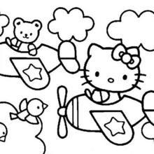 Coloriages Hello Kitty Frhellokidscom