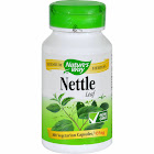 Natures Way Nettle Leaf Capsules, 435 mg, Capsules - 100 count