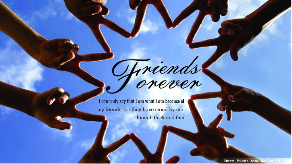 Friends Forever Quotes Nice Hd Wallpaper Love Wallpaper Better
