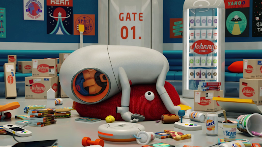 A lazy deliveryman becomes an alien destroyer in short animation 'JohnnyExpress'