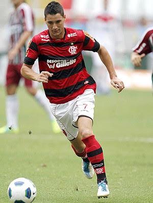 Thiago Neves Flamengo x Fluminense (Foto: André Portugal / VIPCOMM)