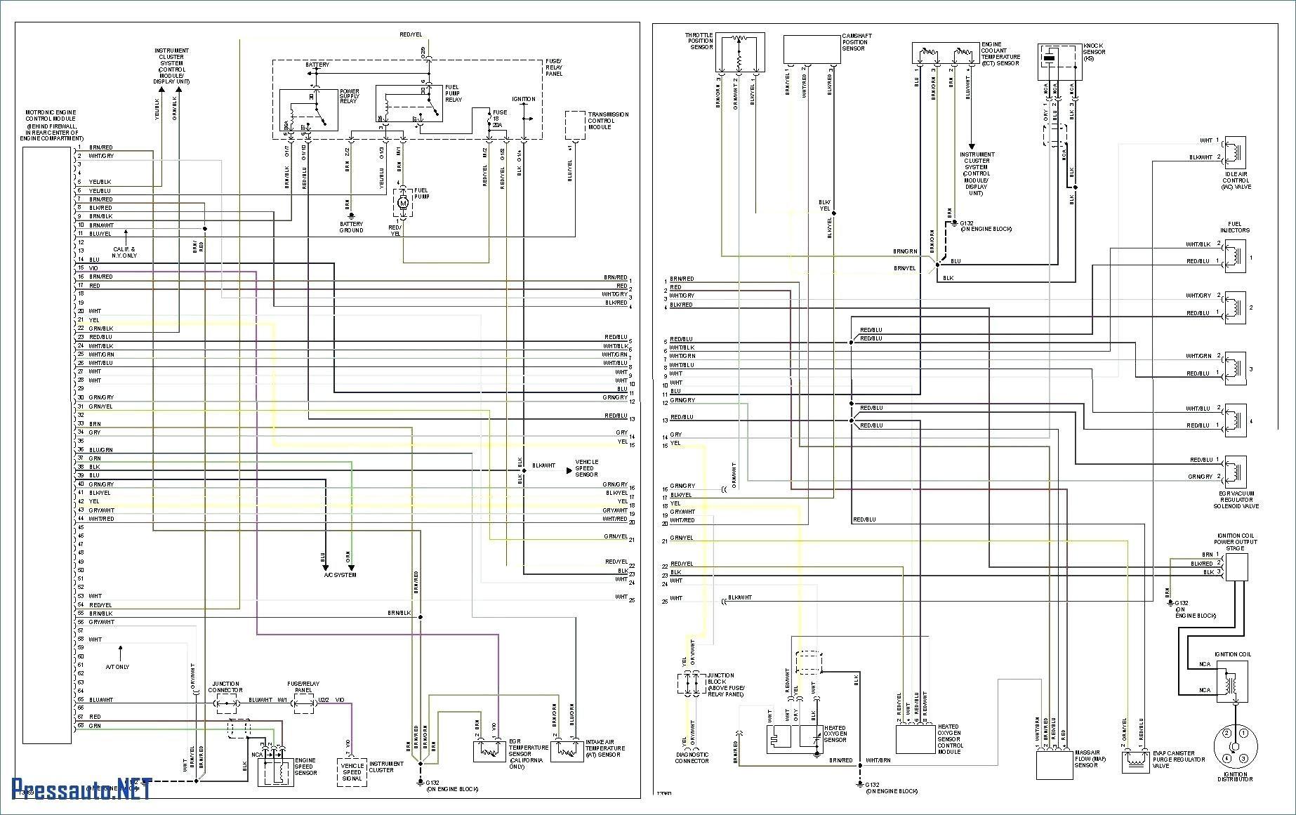 99 Volkswagen Cabrio Fuse Box - Wiring Diagram Networks