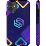 Deep Blue - Armored Phone Case - iPhone 11 / Glossy