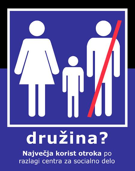 Družina brez očeta? Otrok brez očeta? NIKOLI!